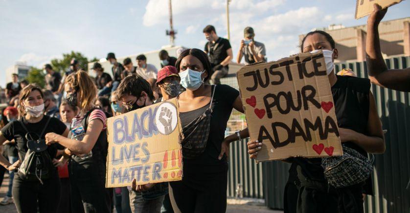 Le ministère de l'Intérieur craint l'effet de souffle des manifestations anti-violences policières aux États-Unis