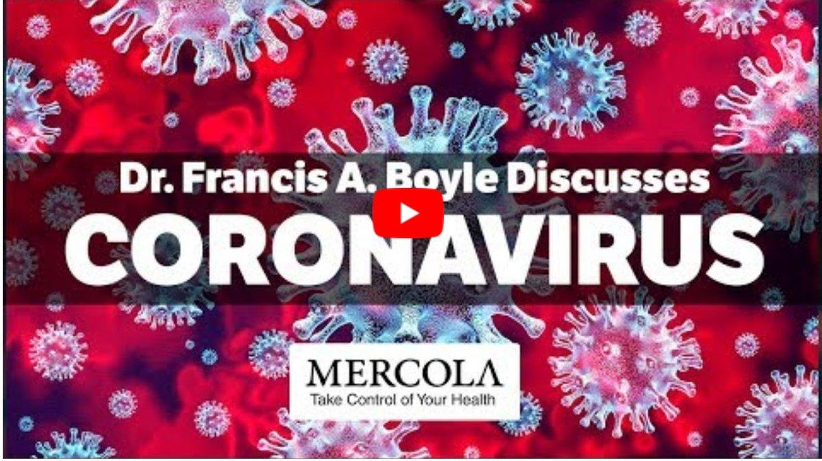 Coronavirus : Interview avec le Dr. Francis A. Boyle