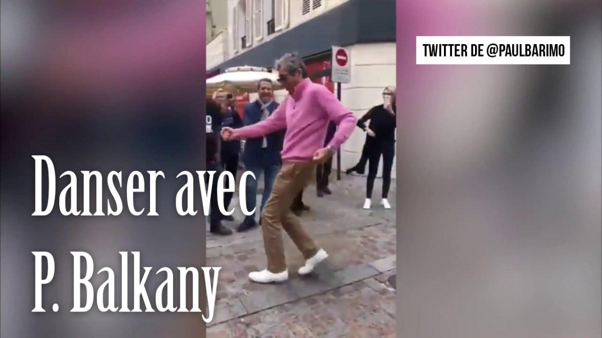 Balkany s'amuse en dansant et sans masque au lieu d'être en prison !