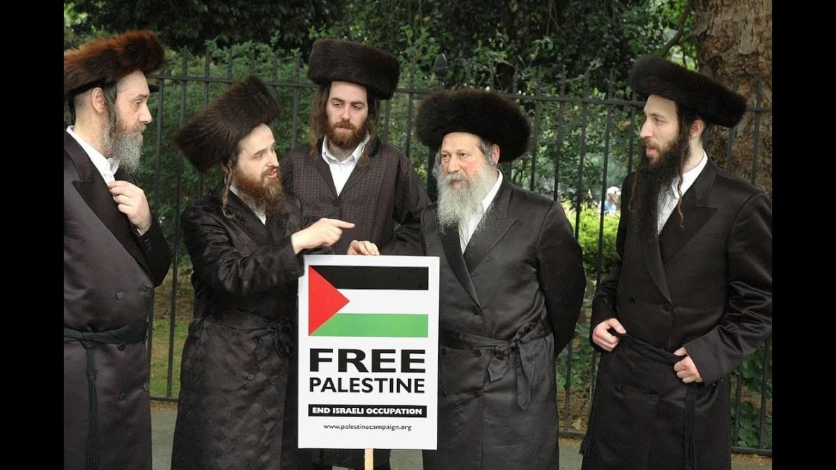 Juifs contre le sionisme et l'entité sioniste