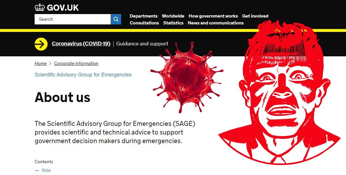 Coronavirus/Terrorisme sanitaire : le SAGE britannique veut terroriser la population !
