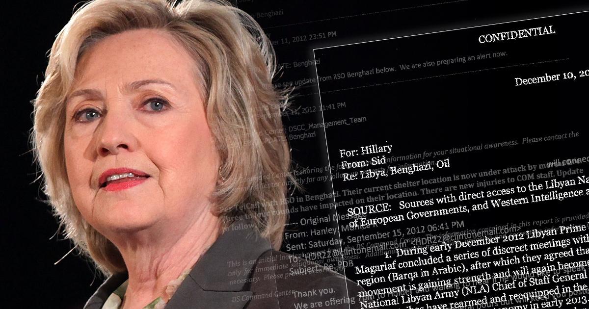 Déblocage d'une collection d'emails d'Hillary Clinton !