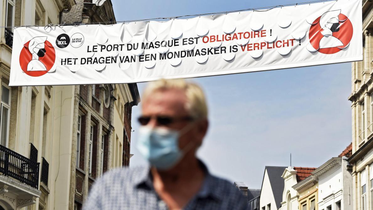 Covid-19 : Bruxelles renonce au port du masque obligatoire à l'extérieur !