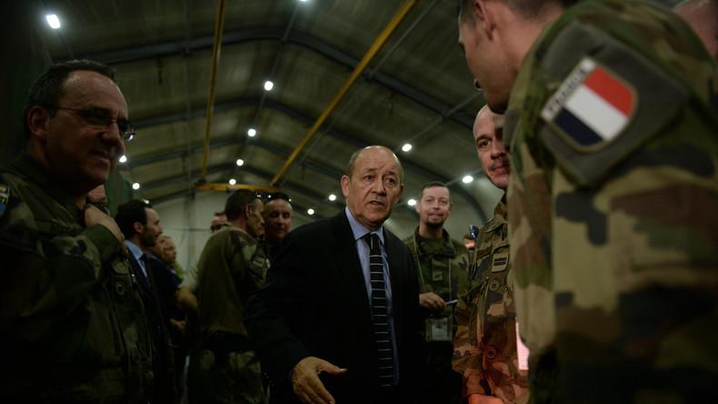 La France s'opposera à un retrait américain d'Irak et d'Afghanistan, annonce Jean-Yves Le Drian