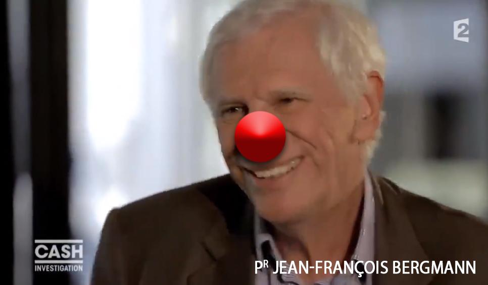 Malaise TV : le Pr Jean-François Bergmann humilié par Élise Lucet !