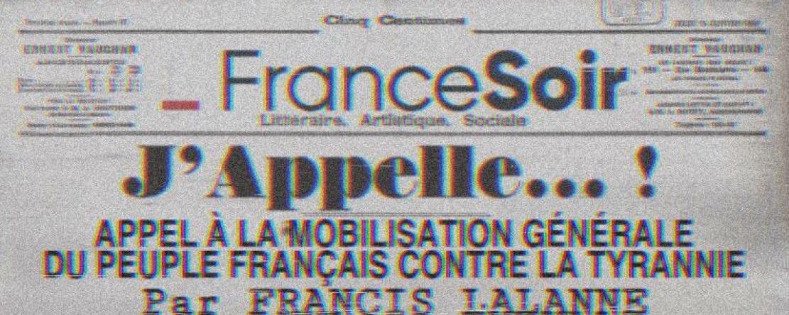 Covid-19/Francis Lalanne : « J'Appelle ! »