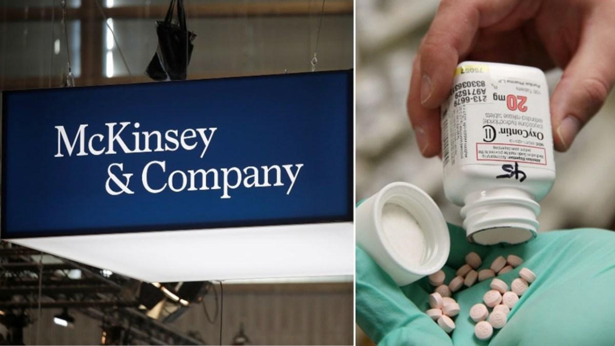 Le cabinet McKinsey a payé 573 millions $ pour le scandale meurtrier de l'OxyContin !