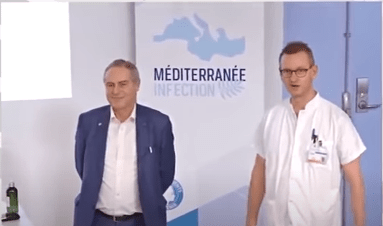 Conférence du Pr Christian Perronne à l'IHU Méditerranée-Infection