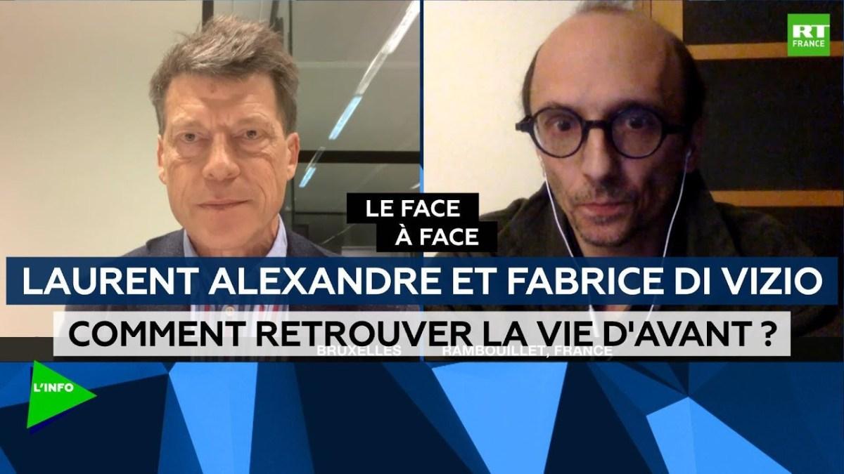 Comment Fabrice Di Vizio a détruit Laurent Alexandre, transparent lors du débat !