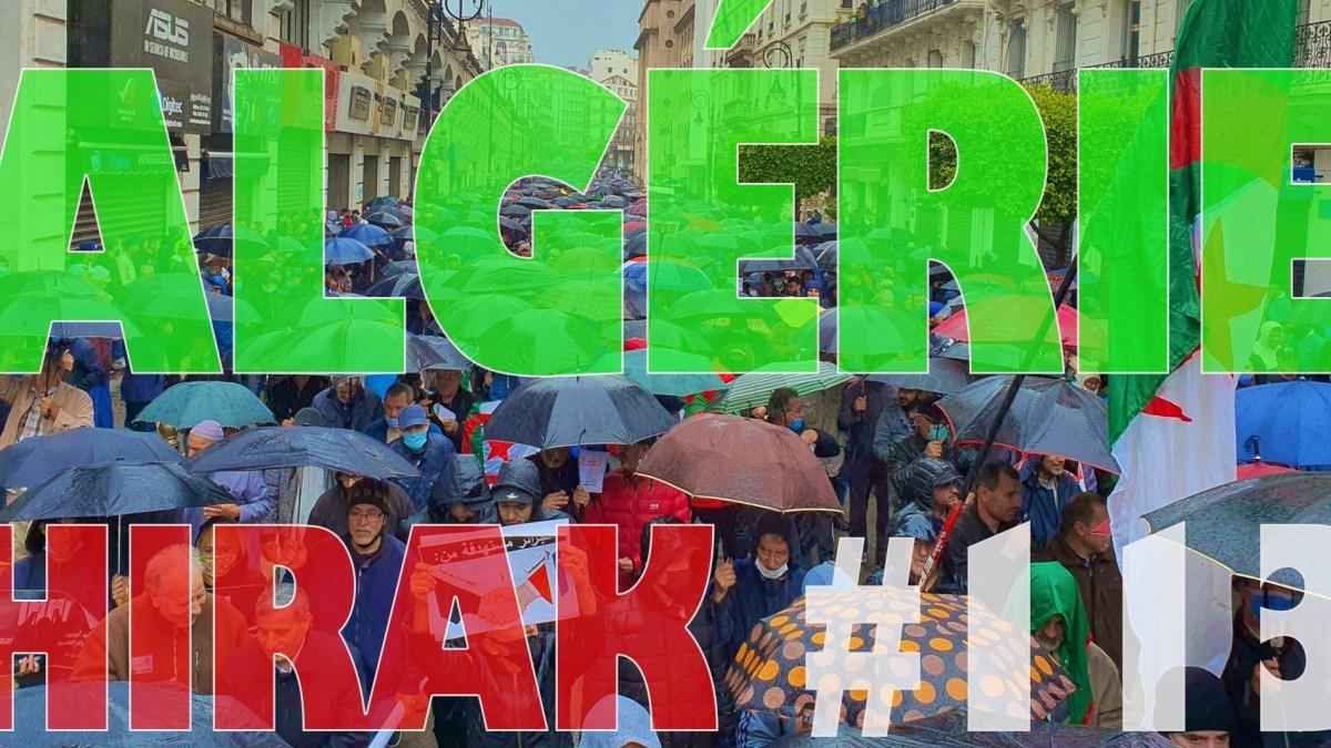 Algérie : manifestations exceptionnelles pour le 113e Hirak ! [vidéos + photos]