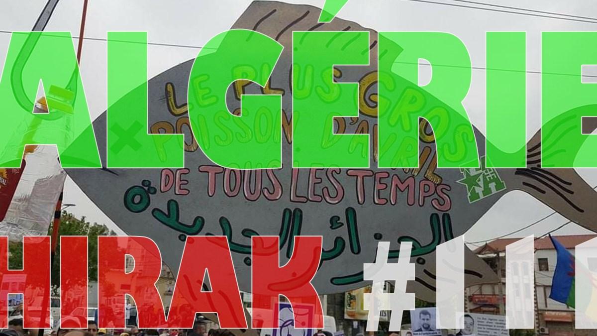 Algérie : manifestations exceptionnelles pour le 111e Hirak ! [vidéos + photos]