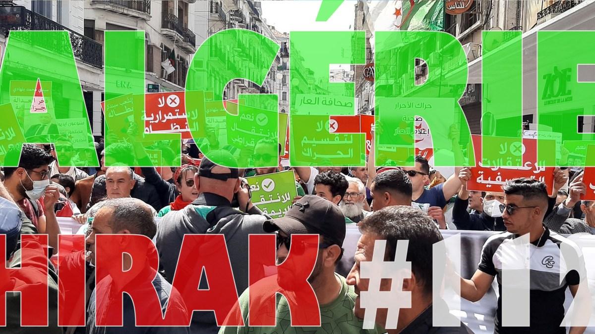 Algérie : manifestations exceptionnelles pour le 112e Hirak ! [vidéos + photos]