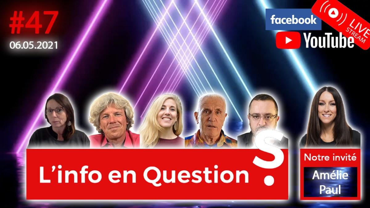 Info en Questions #47 avec la Canadienne Amélie Paul