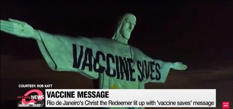 «Temple de la Trouille» : la vaccination dérive en secte !