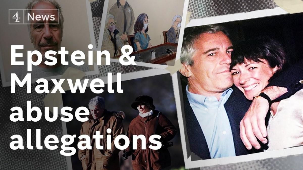 Révélations : Epstein et Maxwell impliqués dans de multiples plaintes pour abus au Royaume-Uni couverts par la police !