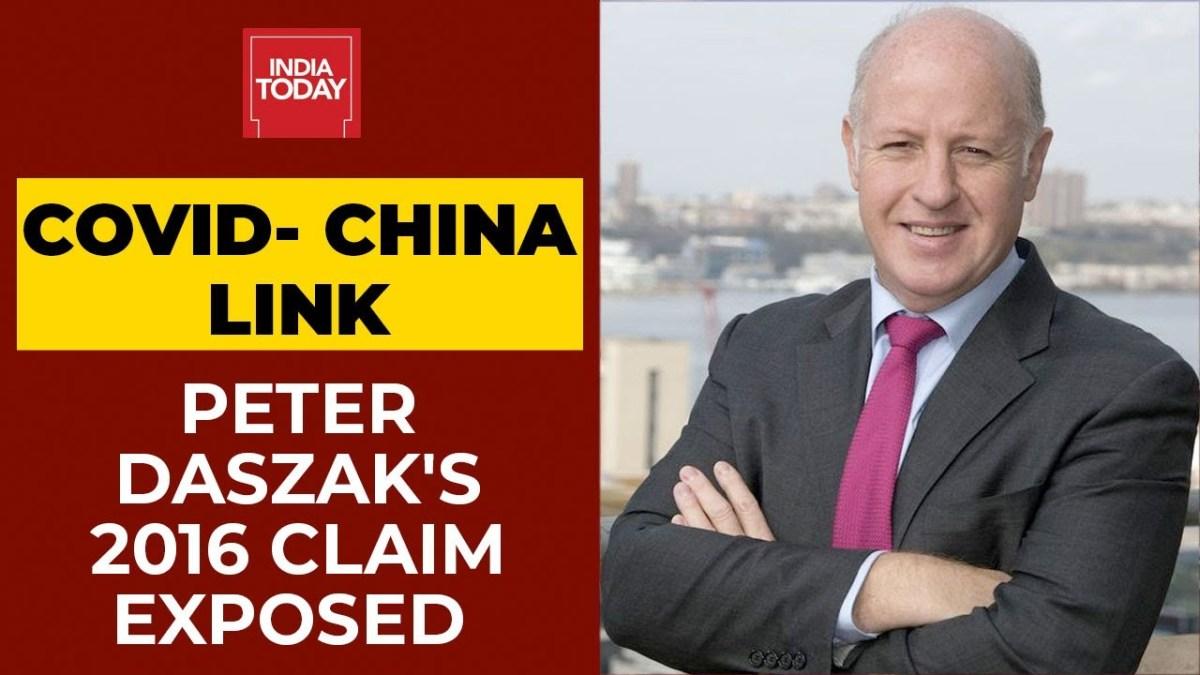On voit Peter Daszak, membre expert de l'OMS, se vanter d'avoir manipulé le virus-tueur en Chine en 2016 !