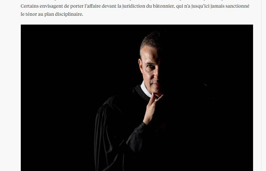 Dans le cabinet de Me Emmanuel Pierrat, des collaborateurs « essorés par le dénigrement et les invectives » !
