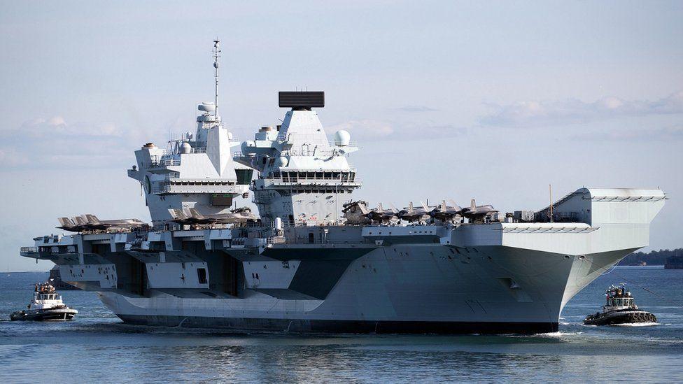 Épidémie de Covid-19 sur le vaisseau amiral de la marine anglaise malgré 100% de vaccinés !