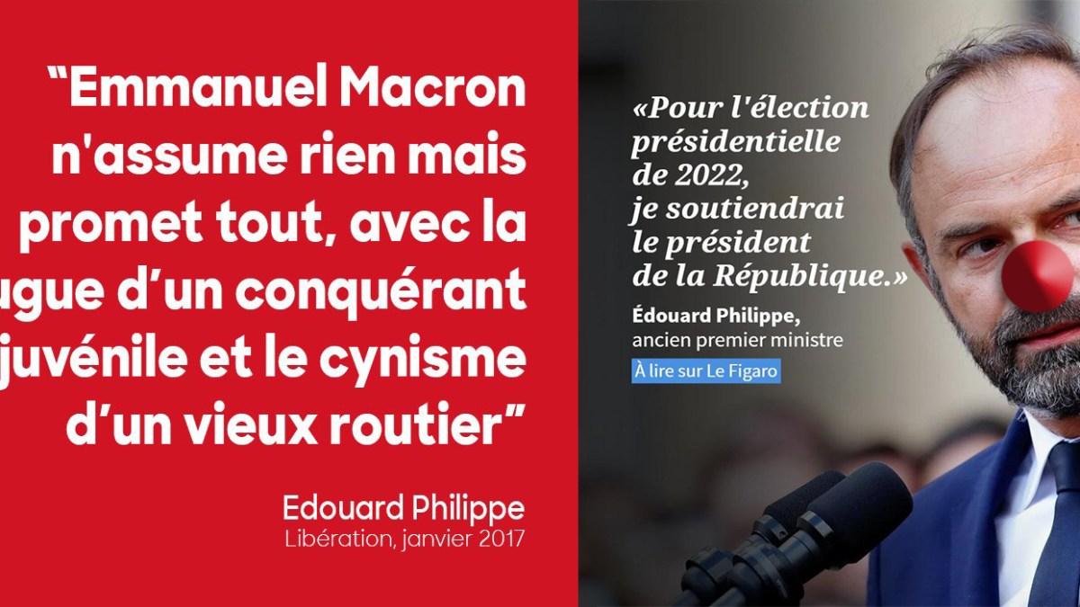 Présidentielle 2022 : Édouard Philippe soutient Macron !