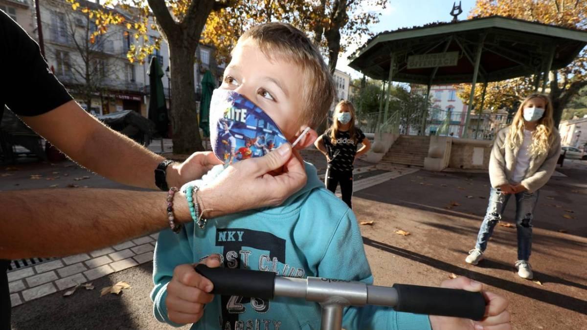 Port du masque à l'école : l'obligation va être levée dans le Var