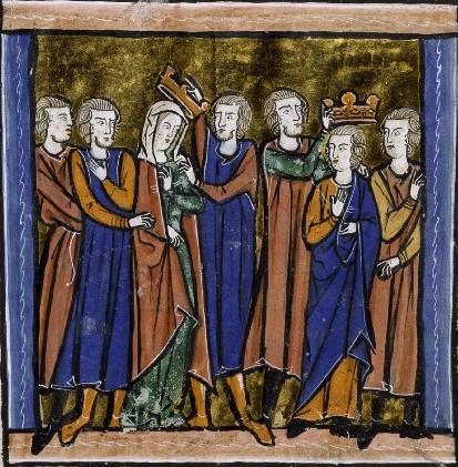 The Coronation of Melisende and Baldwin III