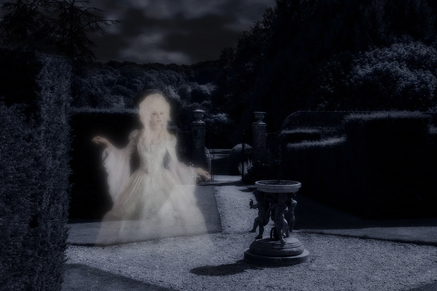 Hauntings: Why is There Always a Woman in White?