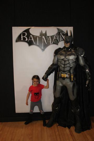 Aurelia and Batman