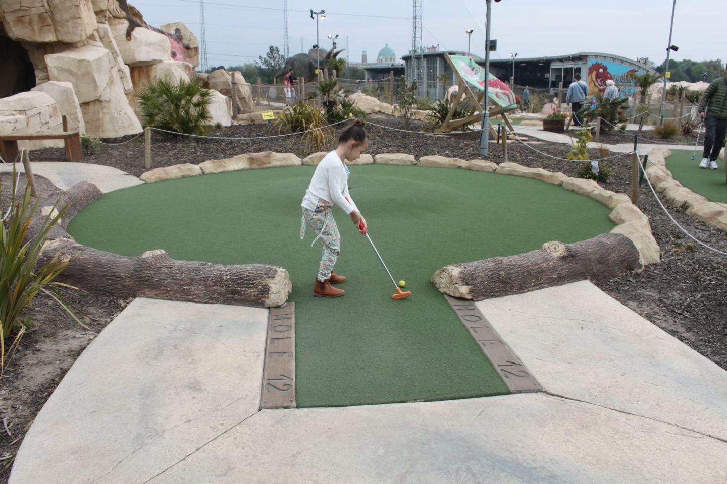 Dino Falls Adventure 'Crazy' Golf