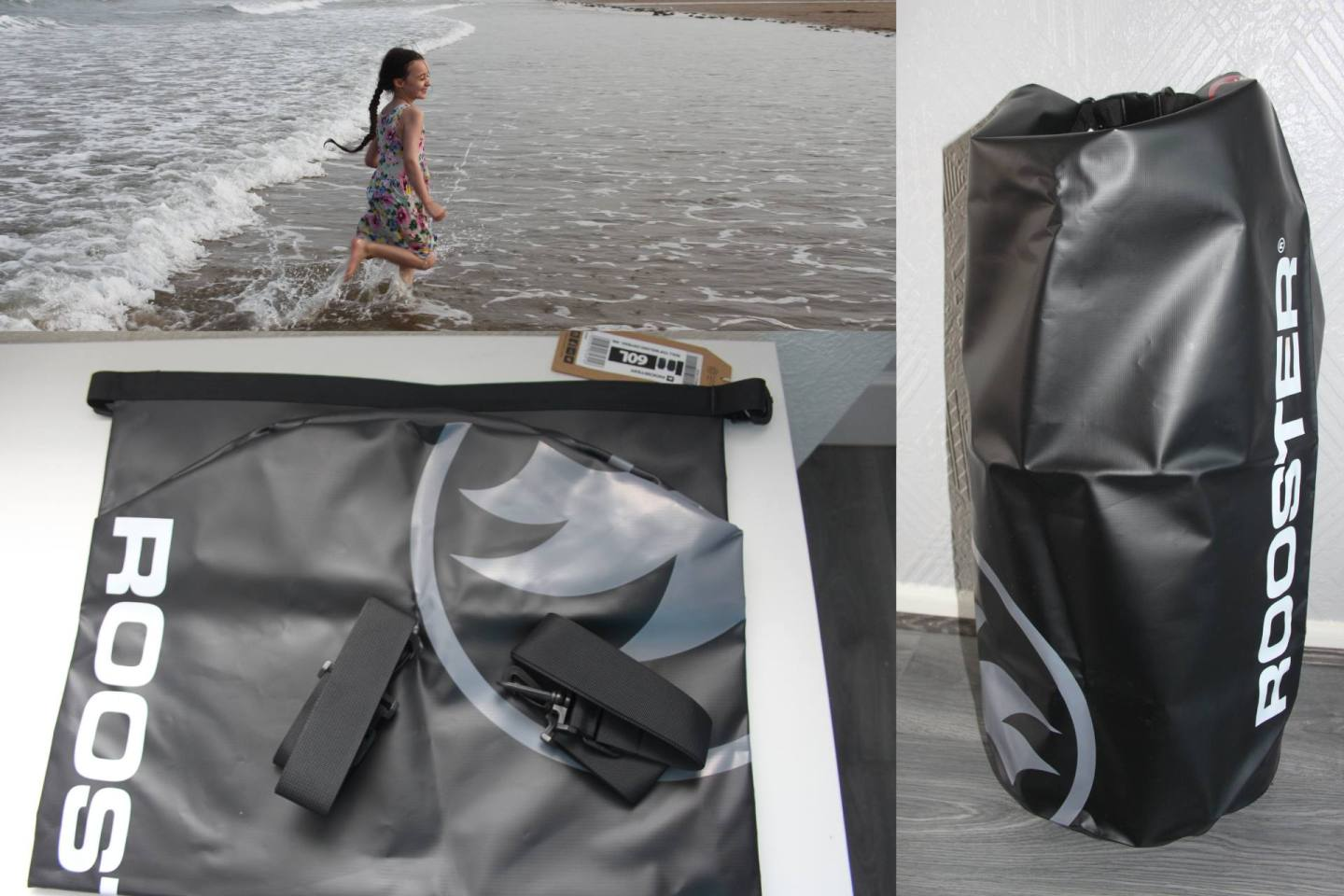 The Roll Top Welded Dry Bag from Rooster