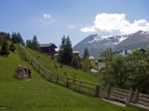 Det går alltid uppåt i Alperna