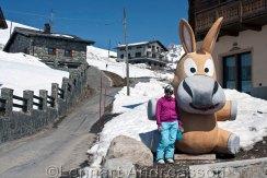 Anna i Europas högst belägna by, Trepalle (2209möh)