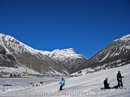 I backen i Livigno
