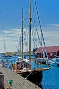 Hamnen i Skärhamn