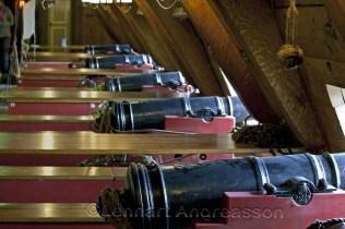 Kanoner på Götheborg