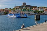 I väntan på färjan till Marstrand Sweden