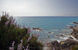 Från strandpromenaden Bordighera