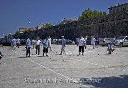 Bouleturnering i Antibes
