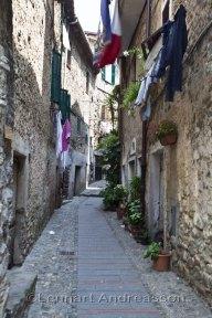 Härliga gränder i byarna, här Alte Vallecrosia