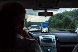 På väg på Autobahn