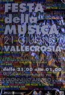 Festa della Musica, Vallecrosia