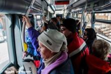 Gratisbussar till och från centrum