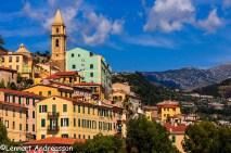 Gamla delen av Ventimiglia