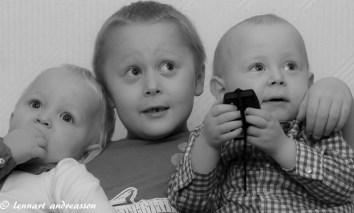 Matteus, Vincent och Melker
