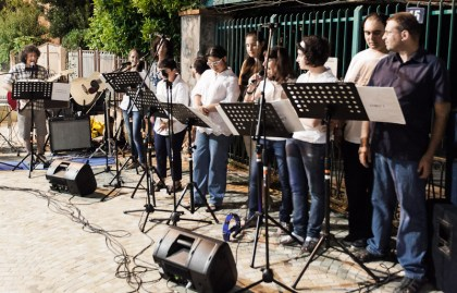 The Spes band, Festa della Musica, Vallecrosia