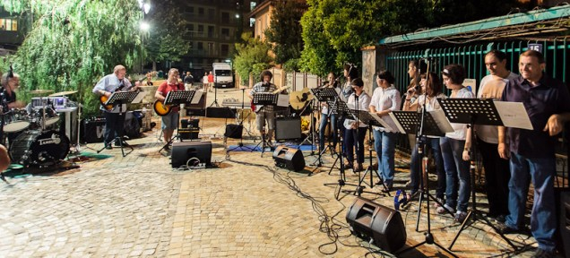 The Spes band, Festa della Musica, Vallecrosia02