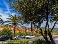 Utsikt över del av Ventimiglia