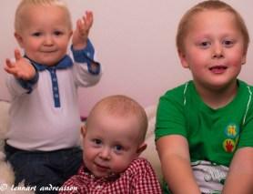 Matteus, Melker och Vincent