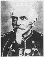 Charles C. DeRudio nella divisa da Capitano