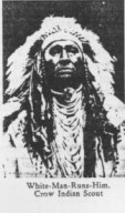 White-Man-Ruins-Him, guida indiana Crow