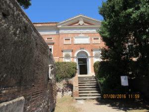 Museo di Ostia (foto P.Petrocelli)